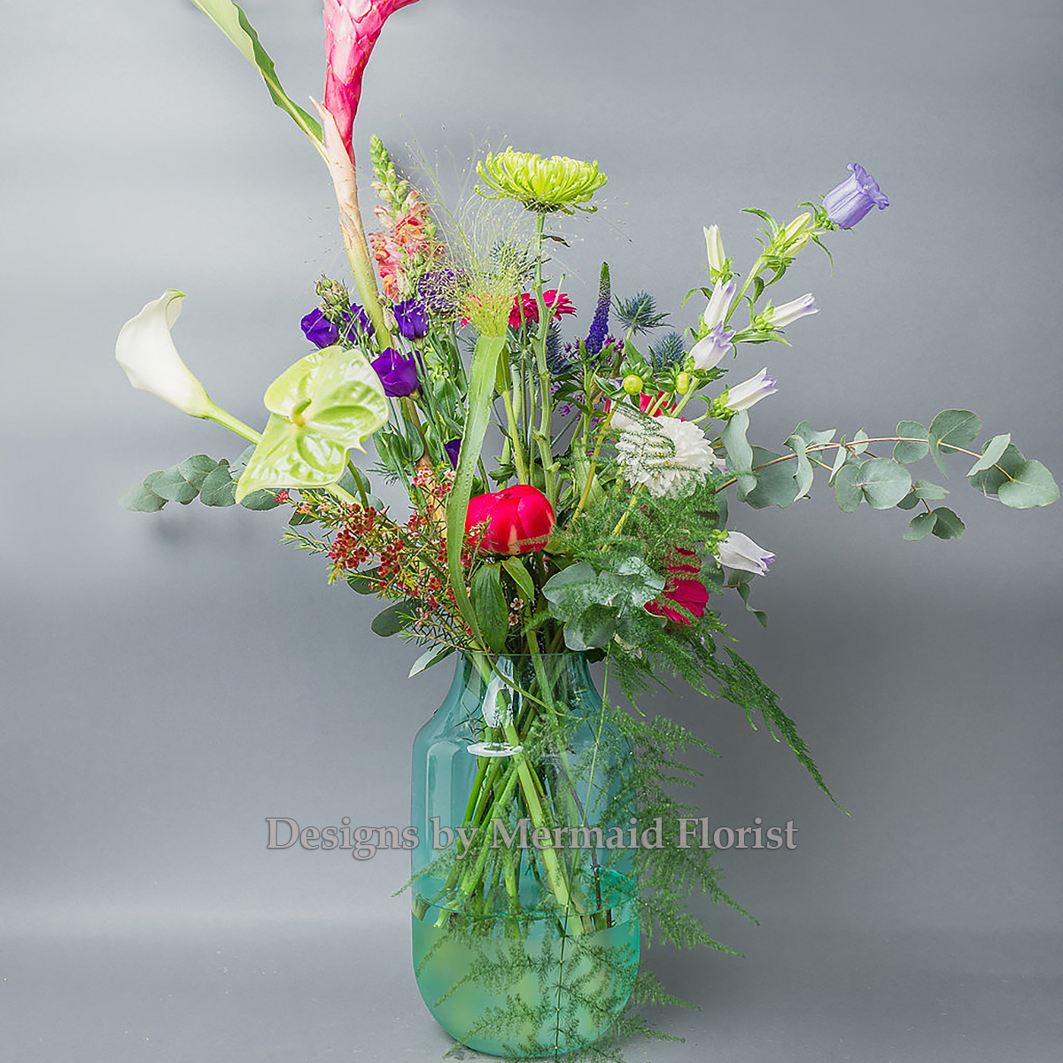 A Vase of Wild Flowers