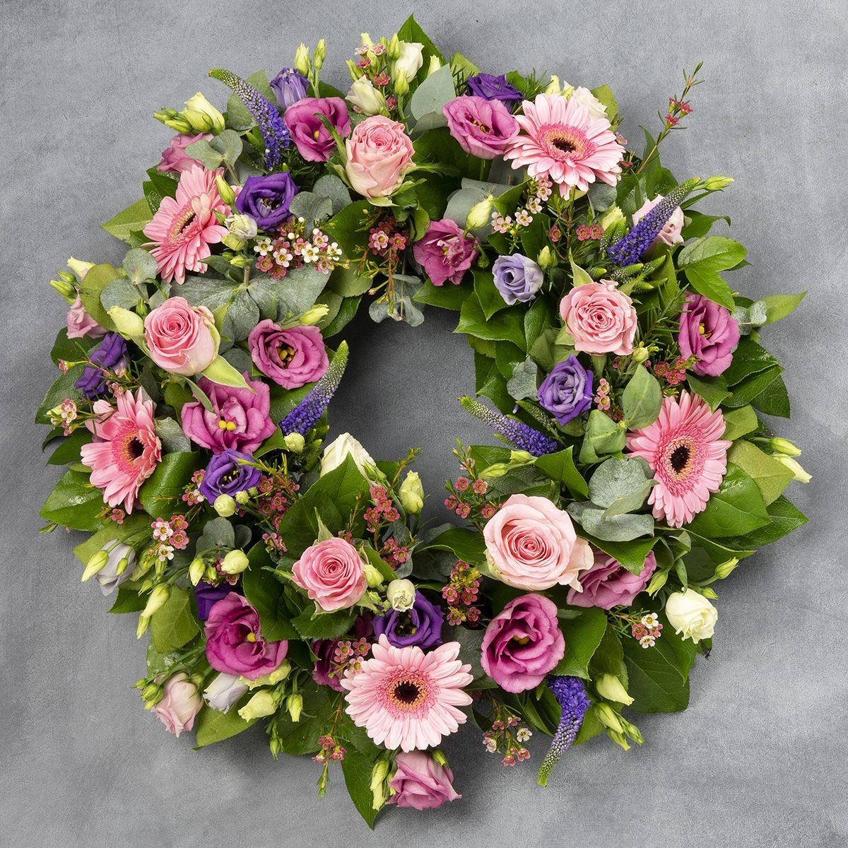 Delgany Sympathy Wreath