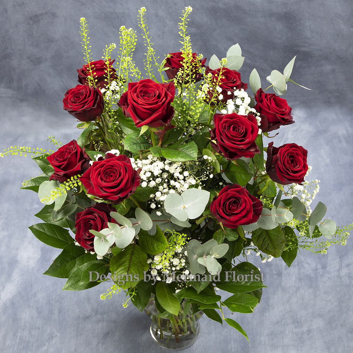 Simply the Best dozen red roses